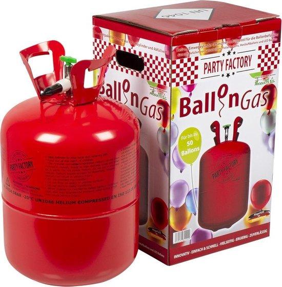 Heliumtank voor 30 ballonnen