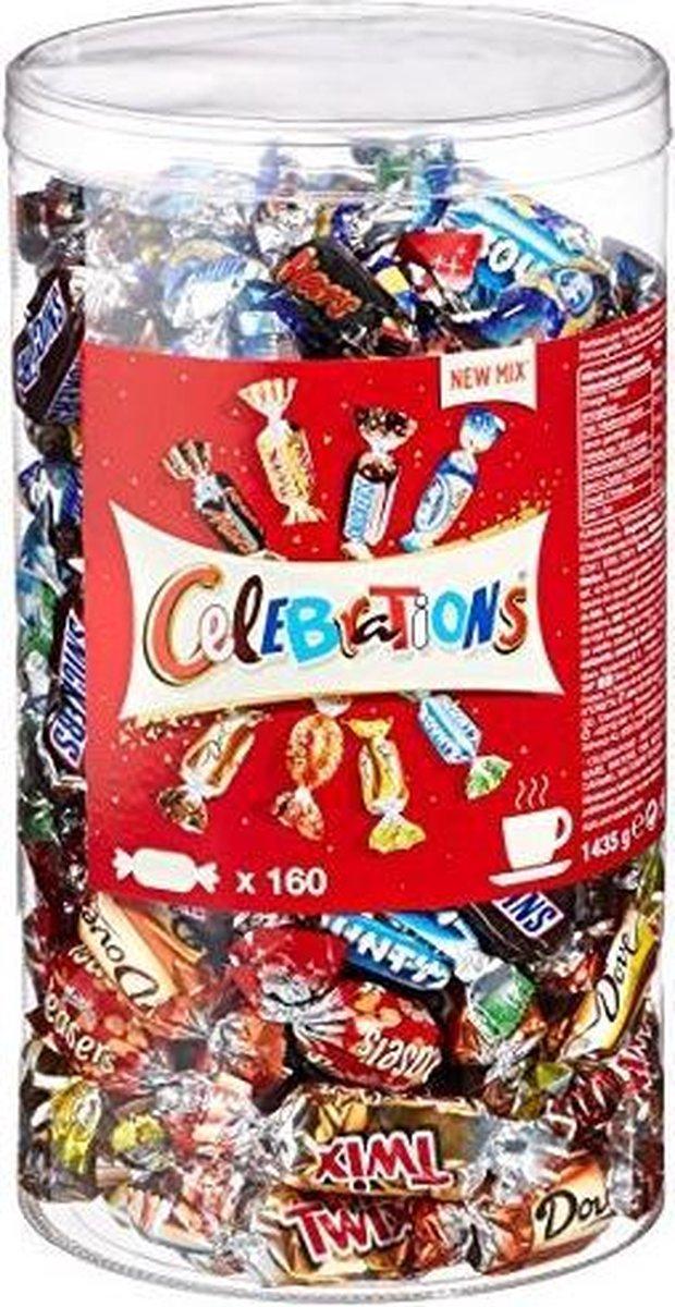 Mars Celebrations - 160 mini's - 1,435 kg