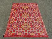 Buitenkleed 120 -180 cm, Rood/Geel/Blauw