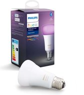 Philips Hue Slimme Lichtbron E27 - White and Color Ambiance - 9W - Bluetooth