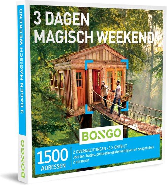 Bongo Bon Nederland - 3 Dagen Magisch Weekend Cadeaubon - Cadeaukaart cadeau voor man of vrouw | 1500 hotels en bijzondere accomodaties