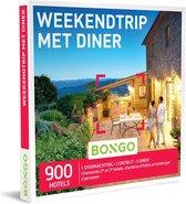 Bongo Bon - Weekendtrip Met Diner Cadeaubon - Cadeaukaart cadeau voor man of vrouw | 900 comfortabele hotels