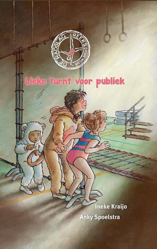 Boek cover De Radslag reeks 4 -   Lieke turnt voor publiek van Ineke Kraijo (Hardcover)
