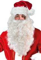 Kerstman baard / pruik set
