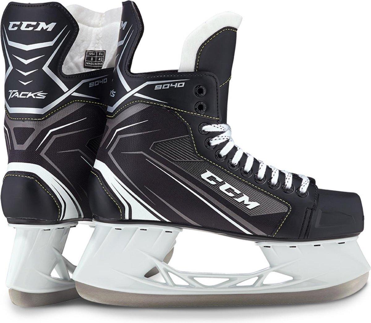 CCM IJshockeyschaatsen TACKS 9040 SR Zwart 44