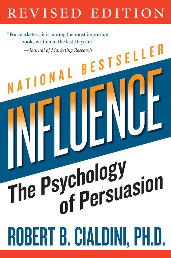 Boek cover Influence van Robert Cialdini