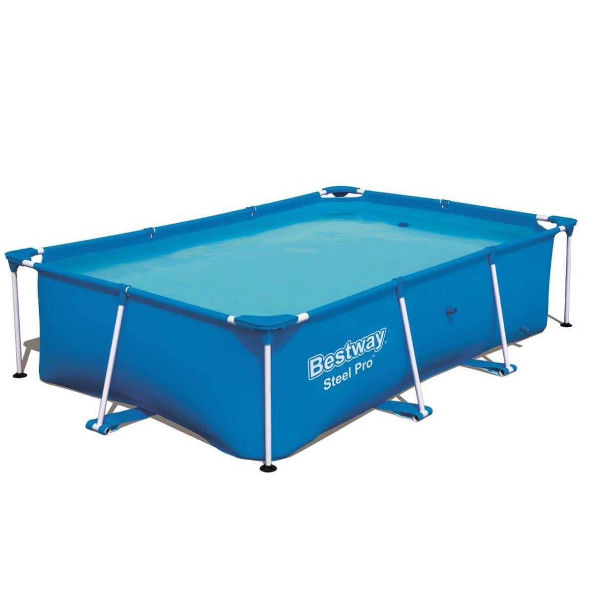 Bestway Zwembad met stalen frame 259x170x61 cm 56403
