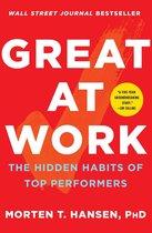 Boek cover Great at Work van Morten t. Hansen