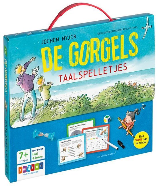 Boek cover De Gorgels - De Gorgels taalspelletjes van Jochem Myjer (Onbekend)