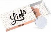 Paper Art Greeting box Liefs
