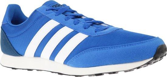 adidas V Racer 2.0 BC0107, Mannen, Blauw, Sneakers maat: 44 2/3 EU