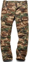 Vintage Industries BDU Pants woodland camo