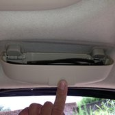 Auto Auto Zonneklep Glas Beschermende Opslag Houder Doos