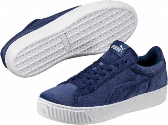 Puma Vikky platform VR blauw sneakers dames - Maat 40.5