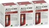 3X 50 strips Accu Chek Performa actiepakket