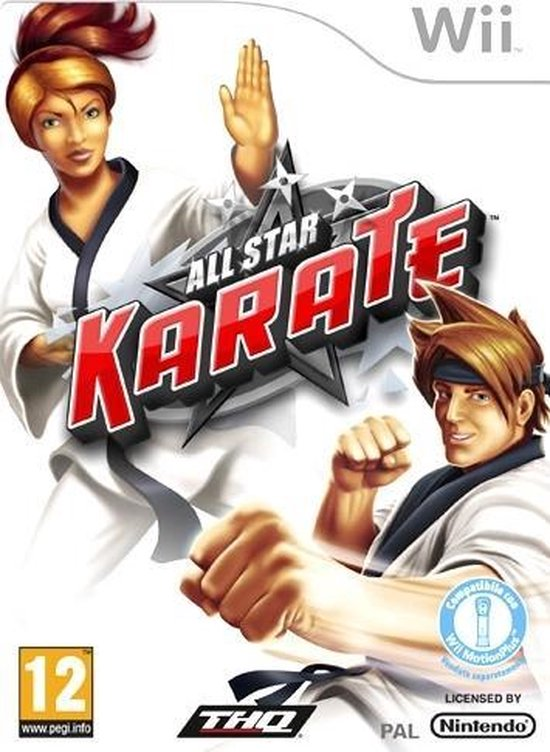 THQ All Star Karate, Wii video-game Italiaans