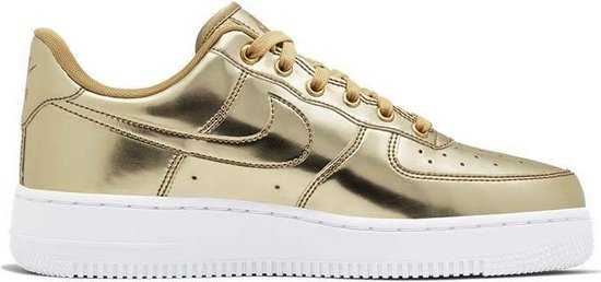 Nike WMNS Air Force 1 SP 'GOLD' - Dames Sneaker - CQ6566-700 - Maat 39