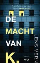 Boek cover De macht van K. van Jens Vern