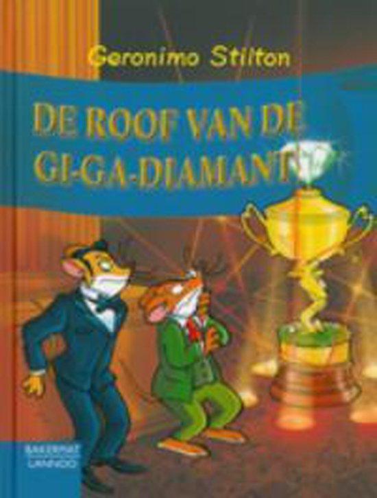 Geronimo Stilton De Roof Van De Gi-Ga-Diamant (Nr40) - de Wakkere Muis |