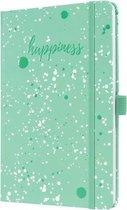 Weekagenda Jolie Beauty A5 2021 hardcover Green Happiness