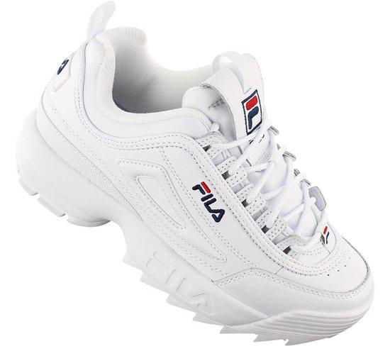 FILA Disruptor 2 Premium 5FM00002 125 Dames Sneakers Schoenen Sportschoenen Wit Maat EU 41