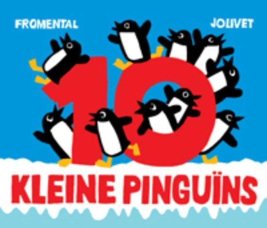 Cover van het boek '10 kleine pinguïns' van Jean-Luc Fromental