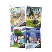 Zoeklicht Dyslexie  -   Pakket Zoeklicht dyslexie bovenbouw AVI M5-E5 (4 titels)