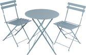 Lifetime Garden - Bistroset - Blauw - Tafel met 2 stoelen