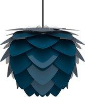 Umage Aluvia Medium  Ø 59 cm - Hanglamp blauw- Koordset zwart