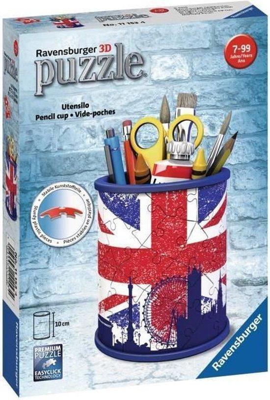 RAVENSBURGER Puzzel 3D Pot a crayons - Union Jack
