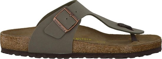 Birkenstock Heren Slippers Ramses - Groen - Maat 39