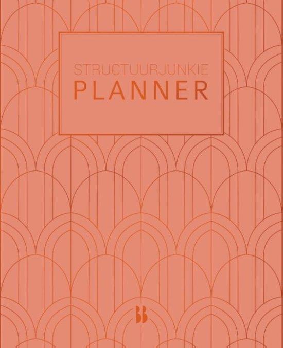 Structuurjunkie - Structuurjunkie planner (klein) - perzik