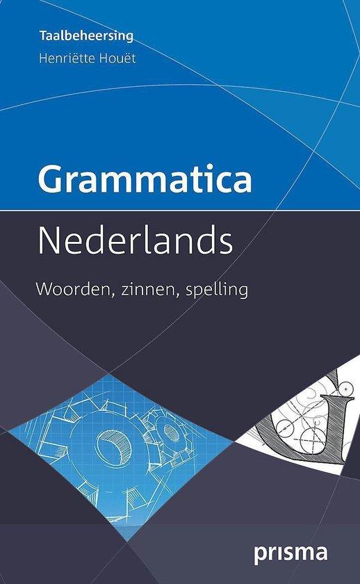 Boek cover Grammatica Nederlands van Henriette Houet (Paperback)
