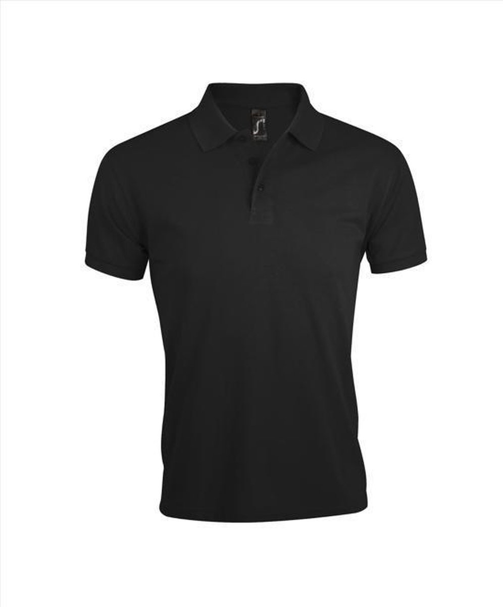 Poloshirt Sol's Prime - 4XL - zwart
