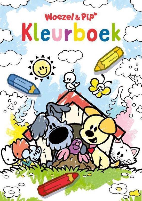 Boek cover Woezel & Pip Kleurboek van Dromenjager