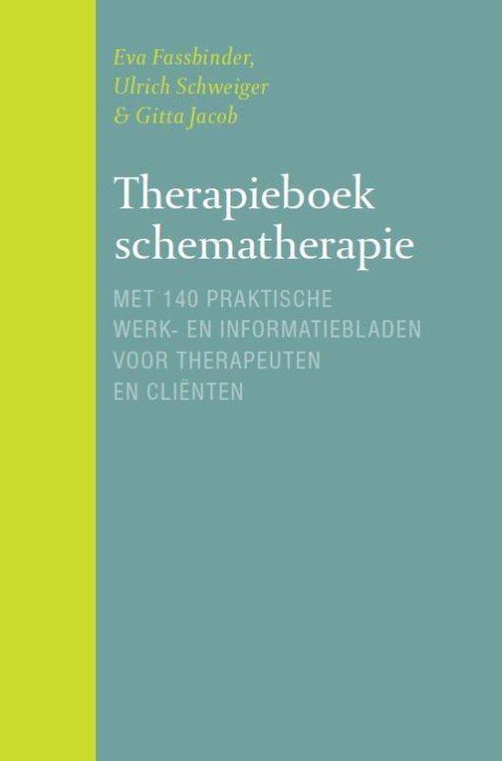 Boek cover Therapieboek schematherapie van Eva Fassbinder (Paperback)