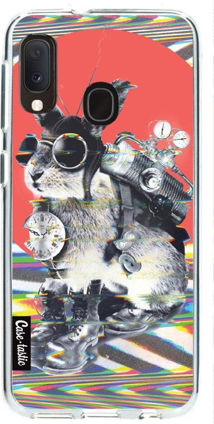 Samsung Galaxy A20e hoesje Time Traveller Casetastic Smartphone Hoesje softcover case