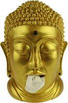 Rotary Hero Boeddha - Tissue box Houder - Goud