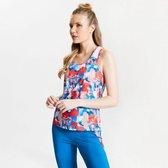 Dare 2b - Kate Ferdinand Ardency Printed Vest - Outdoorshirt - Vrouwen - Maat 34 - Oranje