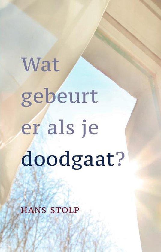 Boek cover Wat gebeurt er als je dood gaat? van Hans Stolp (Hardcover)