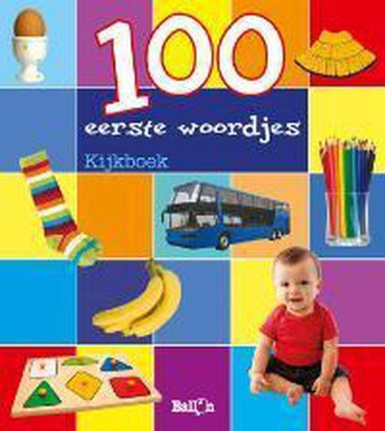 Cover van het boek '100 eerste woordjes'