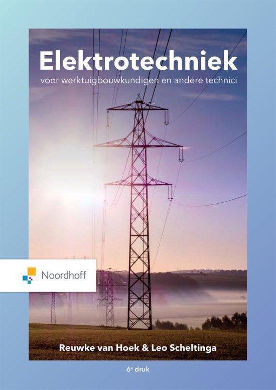 Boek cover Elektrotechniek van Leo Scheltinga (Paperback)