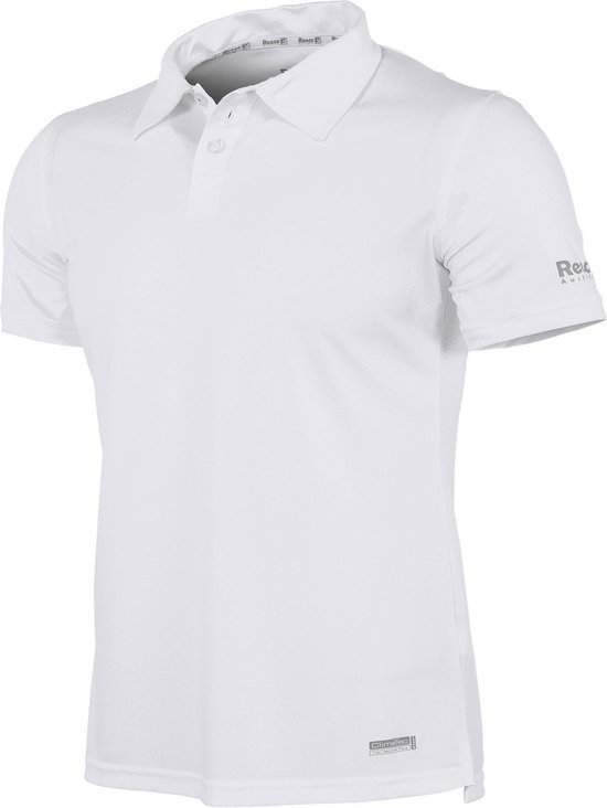Reece Australia Darwin ClimaTec Poloshirt Unisex Sportpolo - Wit - Maat L