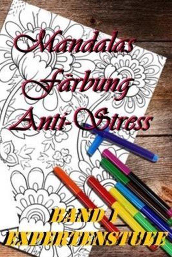 Mandalas Farbung Anti-Stress