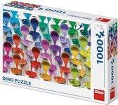 Dino Puzzel Kleuren 1000 stukjes