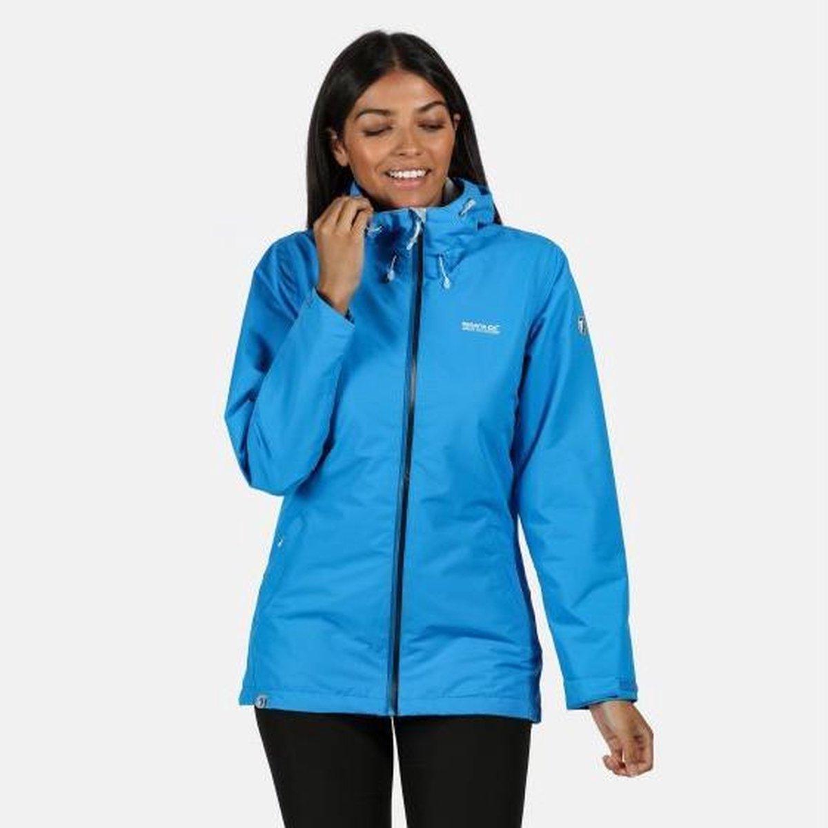 Regatta - Women's Hamara III Lightweight Waterproof Hooded Walking Jacket - Jas - Vrouwen - Maat 42
