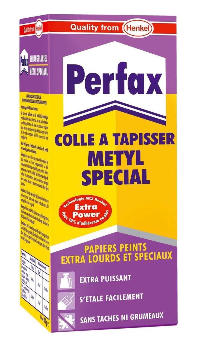 Perfax Behanglijm - Metyl Speciaal - Extra Zwaar - Speciaal behang - 200 g