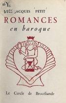 Romances en baroque
