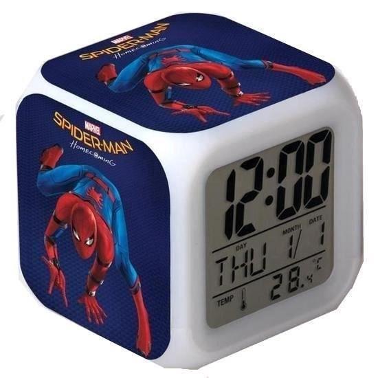Thumbnail van een extra afbeelding van het spel Spiderman wekker   Marvel