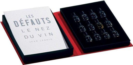 Koelkast: Le Nez du Vin geurdoos wijn - 12 Aroma's Les défauts (eng), van het merk Jean Lenoir